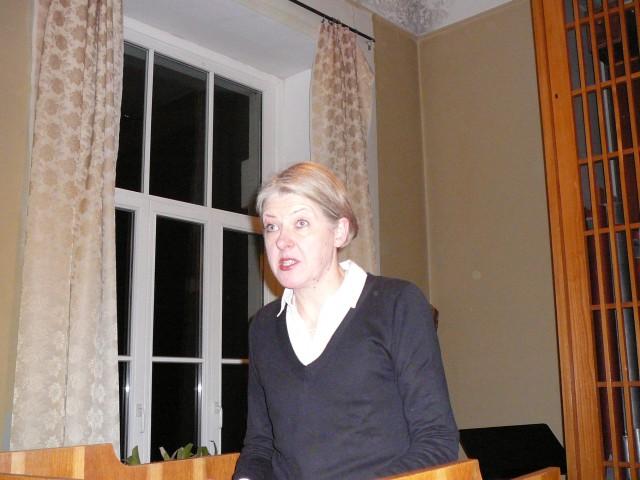 Apie garsiuosius čekų kompozitorius kalba doc. V. Markeliūnienė.
